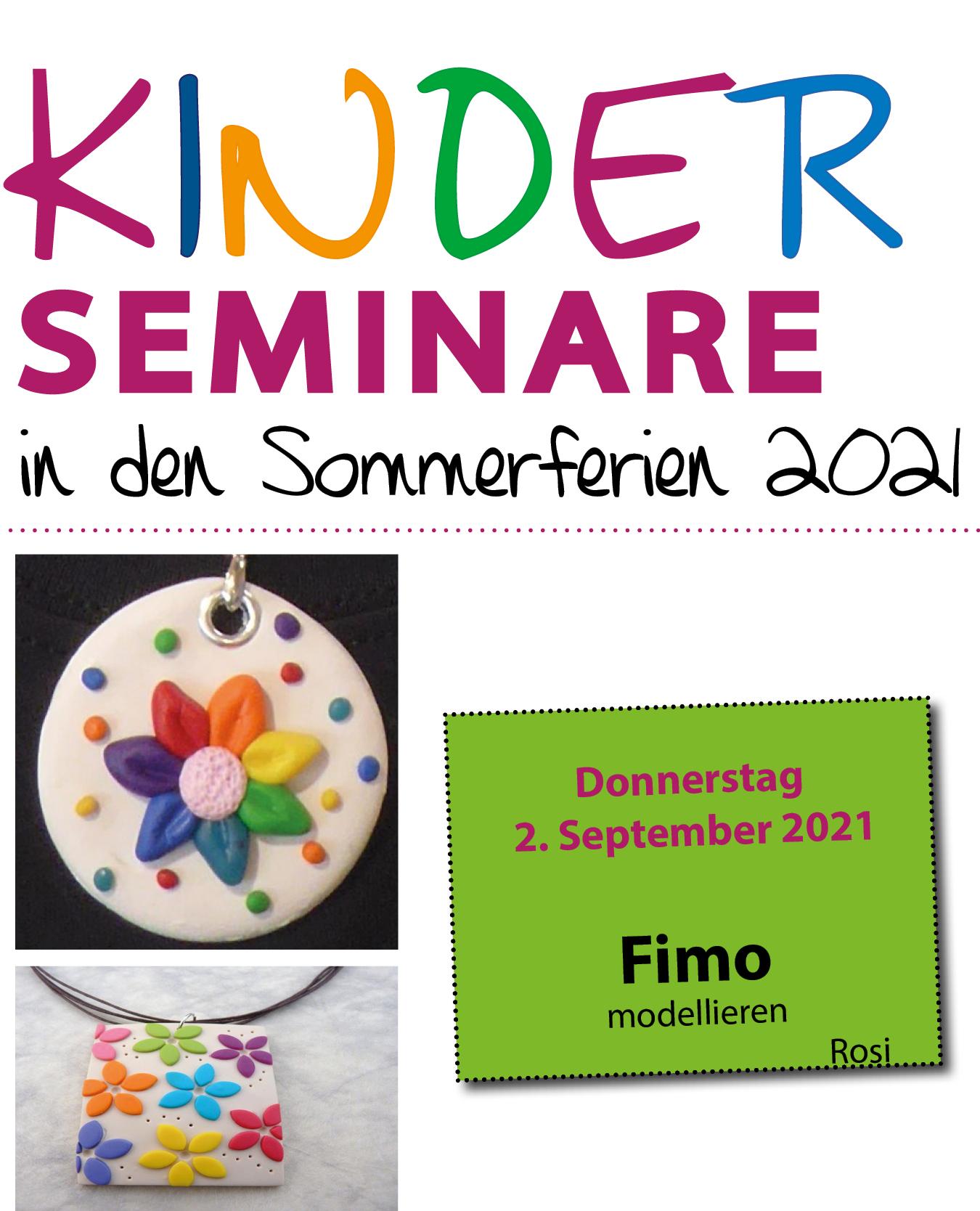 Kinderseminar Fimo Ketten