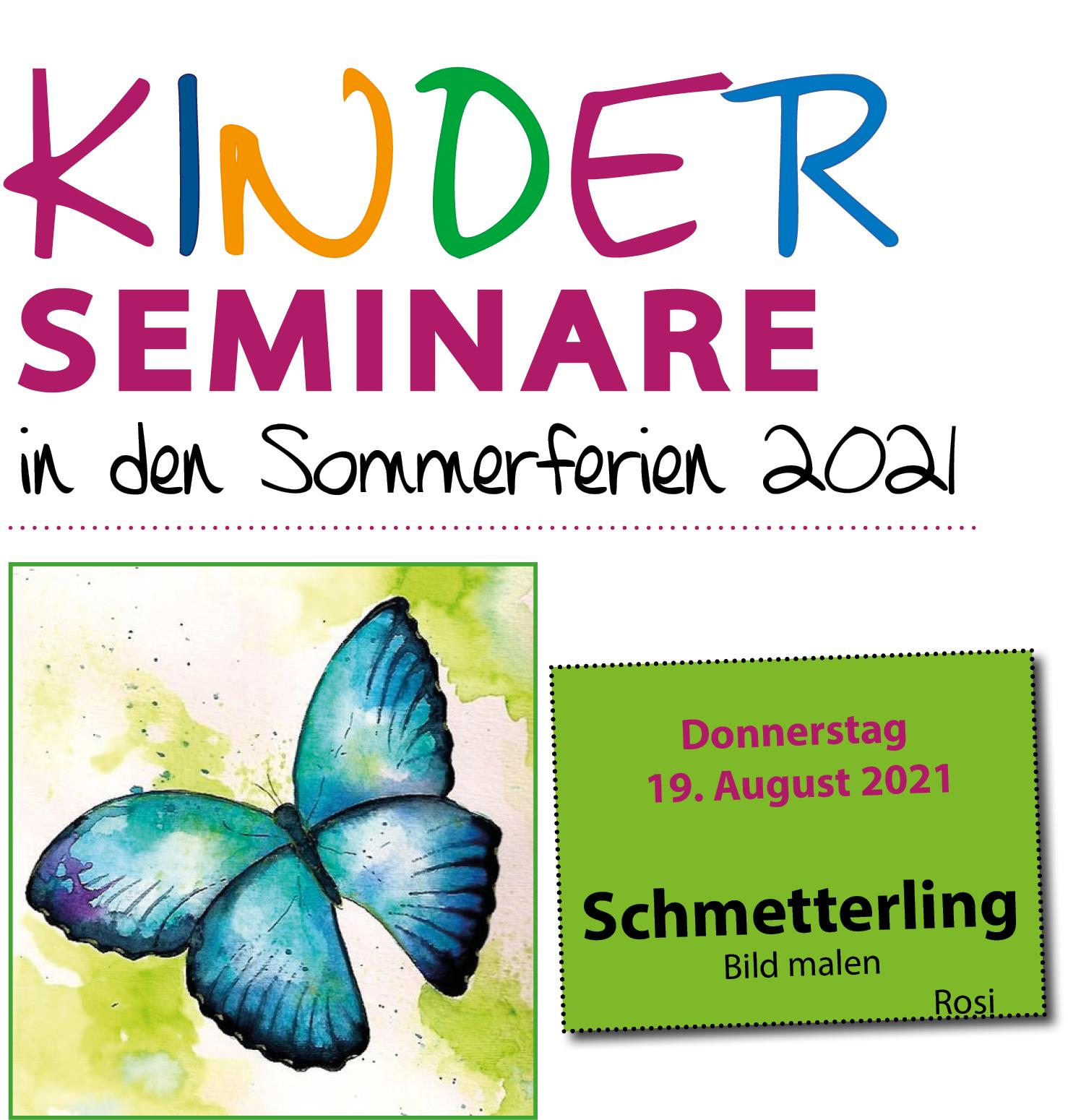 Kinderseminar Schmetterlingsbild