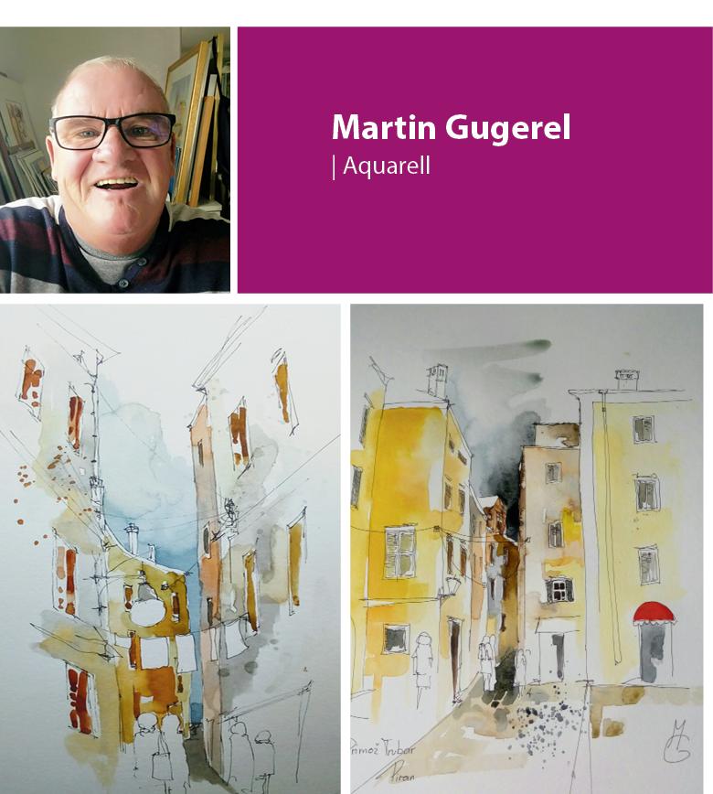 "H24 Seminar Aquarell ""Reisebilder"""