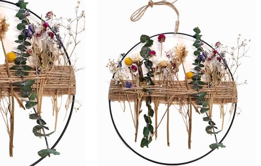 Workshop Kranz mit Trockenblumen